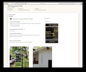 SignOtter Order Detail Page